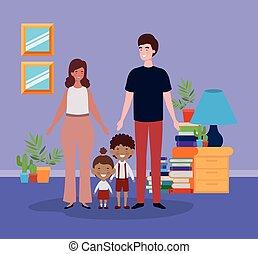 わずかしか, 子供 部屋, 生徒, 恋人, 教師