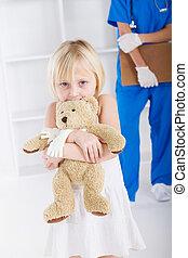 わずかしか, 患者, 保有物, 熊, テディ