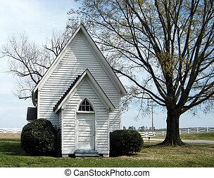 わずかしか, 白, 教会