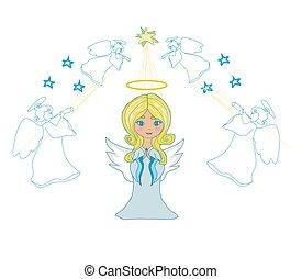 わずかしか, 祈ること, 天使