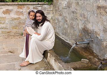 わずかしか, 祝福, 女の子, イエス・キリスト