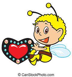 わずかしか, 蜂, 漫画