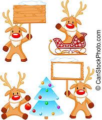 わずかしか, separately, 分けられる, reindeer., 4