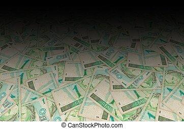 わら人形, 共和国, ブラジル人, メモ, depicted, お金, バスト, 肖像画, 1(人・つ), 古い, 実質