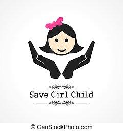 を除けば, 女の子, 子供, 概念