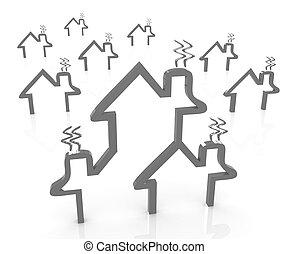 を除けば, 家, 概念, エネルギー