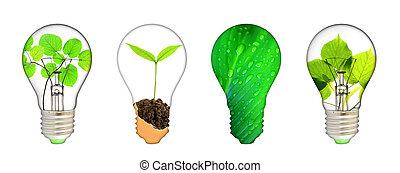 を除けば, 惑星, -, 緑, 概念, エネルギー