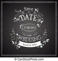 を除けば, 日付, 結婚式, カード