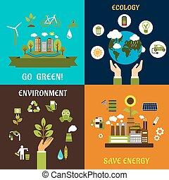 を除けば, 環境, エネルギー, エコロジー, アイコン