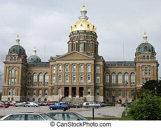 アイオワの州の国会議事堂