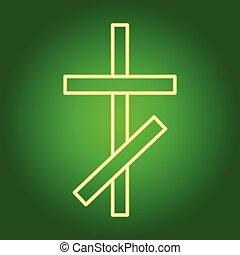 アイコン, キリスト教徒, 交差点