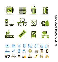 アイコン, コンピュータ, ウェブサイト