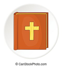 アイコン, スタイル, 聖書, 漫画