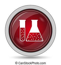 アイコン, セット, 化学