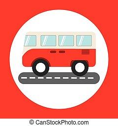 アイコン, バス