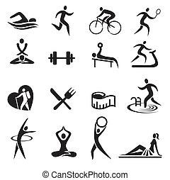 アイコン, ライフスタイル, スポーツ, healthy_
