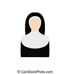 アイコン, 修道女, 隔離された