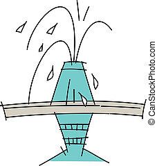 アイコン, 噴水