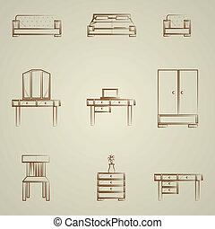 アイコン, 家具