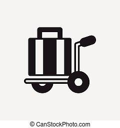 アイコン, 手荷物
