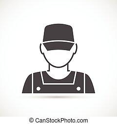 アイコン, 機械工, avatar
