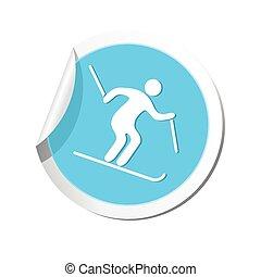 アイコン, 滑降スキー