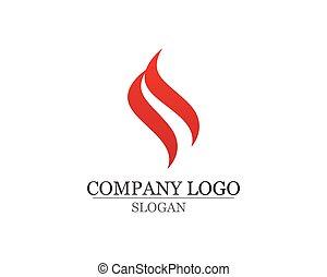 アイコン, 火, 自然, シンボル, 炎, ロゴ