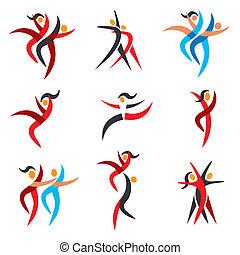 アイコン, 現代 ダンス