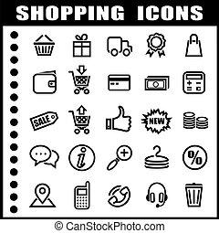 アイコン, 買い物