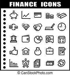 アイコン, 金融