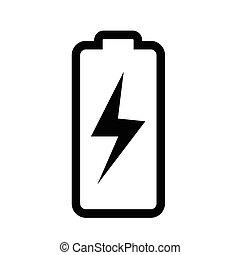 アイコン, 電池