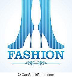 アイコン, 靴, ファッション, 美しさ