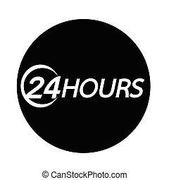 アイコン, 24 時間