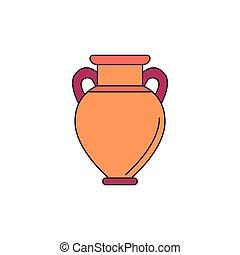 アイコン, amphora, スタイル, 漫画
