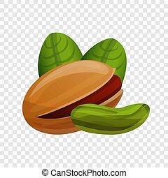 アイコン, pistachio, スタイル, 漫画