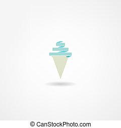 アイスクリーム, アイコン