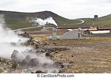 アイスランド, 地熱, 駅, 力