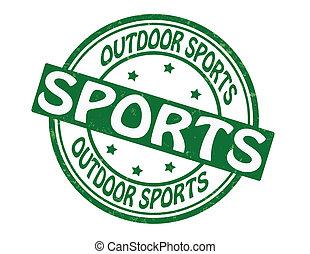 アウトドアのスポーツ