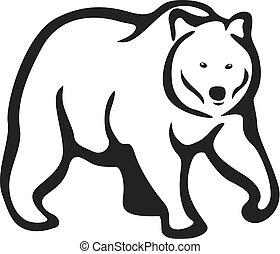 アウトライン, 熊