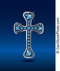 アクアマリン, キリスト教徒, 交差点