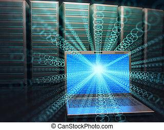アクセス, データセンタ