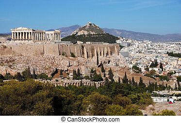 アクロポリス, アテネ, 丘