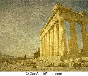 アクロポリス, 中に, アテネ, ギリシャ