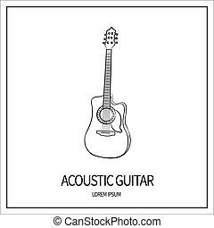 アコースティックギター, アイコン