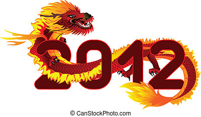 アジア人, ドラゴン