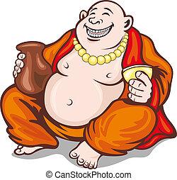 アジア人, 修道士