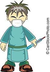 アジア人, 医者