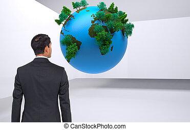 アジア人, 合成の イメージ, ビジネスマン