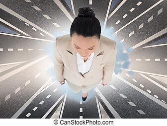アジア人, 合成の イメージ, 女性実業家