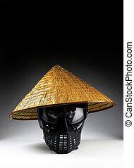 アジア人, 竹, hat.